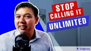 stop calling it unlimited